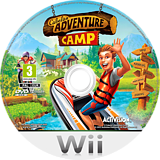Cabela's Adventure Camp Wii disc (SH8P52)