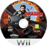 How to Train Your Dragon Wii disc (SHDP52)