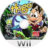 Hugo: Magic in the Troll Woods Wii disc (SHOXKR)