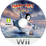 Happy Feet 2 Wii disc (SHXPWR)