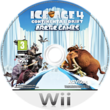 Ice Age 4: Continental Drift - Artic Games Wii disc (SIAP52)