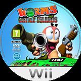 Worms Battle Islands Wii disc (SILP78)