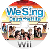 We Sing: Deutsche Hits Wii disc (SITPNG)