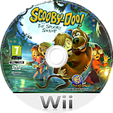Scooby-Doo! and the Spooky Swamp Wii disc (SJ2PWR)