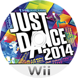 Just Dance 2014 Wii disc (SJOP41)