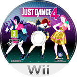 Just Dance 4 Wii disc (SJXP41)