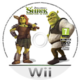 Shrek Forever After Wii disc (SK4P52)