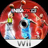 NBA 2K13 Wii disc (SKSP54)
