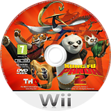 Kung Fu Panda 2 Wii disc (SKUP78)