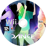 Get Up And Dance Wii disc (SLCPGN)