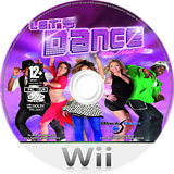 Let's Dance with Mel B Wii disc (SLDPLG)