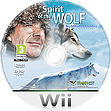 The Spirit of the Wolf Wii disc (SLPP5D)