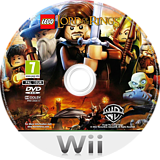 LEGO The Lord of the Rings Wii disc (SLRPWR)