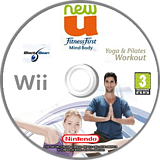 NewU Fitness First Mind Body: Yoga & Pilates Workout Wii disc (SLTPLG)