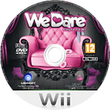 We Dare Wii disc (SLVP41)