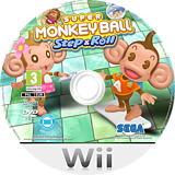 Super Monkey Ball: Step & Roll Wii disc (SMBP8P)