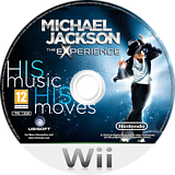 Michael Jackson The Experience Wii disc (SMOP41)