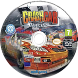 Crash Car Racer Wii disc (SN5PNG)