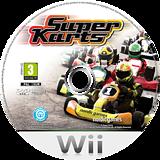 Super Karts Wii disc (SN6PNG)