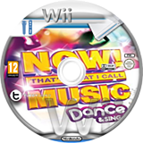 Now! That's What I Call Music: Dance & Sing Wii disc (SNOPY1)