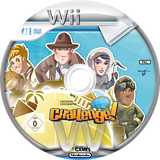 National Geographic Challenge! Wii disc (SNQPLG)