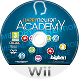 Happy Neuron Academy Wii disc (SNUPJW)