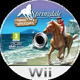 Springdale: Riding Adventures Wii disc (SPKXPV)