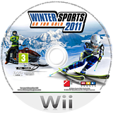 Winter Sports 2011: Go for Gold Wii disc (SPOPFR)