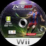 Pro Evolution Soccer 2011 Wii disc (SPVYA4)