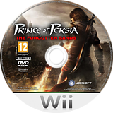 Prince of Persia: The Forgotten Sands Wii disc (SPXP41)