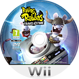 Raving Rabbids: Travel in Time Wii disc (SR4P41)
