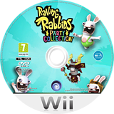 Raving Rabbids Party Collection Wii disc (SR5P41)