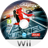 Project Runway Wii disc (SRNP70)