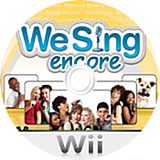 We Sing: Encore Wii disc (SSEPNG)
