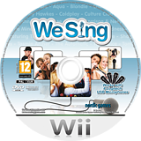We Sing Wii disc (SSGPNG)