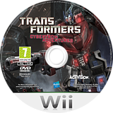 Transformers: Cybertron Adventures Wii disc (ST5P52)