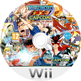 Tatsunoko vs. Capcom: Ultimate All-Stars Wii disc (STKP08)