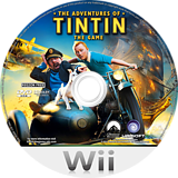 The Adventures of Tintin: The Secret of the Unicorn Wii disc (STNP41)