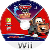 Cars Toon:Mater's Tall Tales Wii disc (STOP4Q)