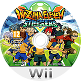 Inazuma Eleven Strikers Wii disc (STQX01)