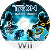 Tron: Evolution - Battle Grids Championship Edition Wii disc (STRX4Q)