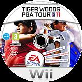 Tiger Woods PGA Tour 11 Wii disc (STWP69)