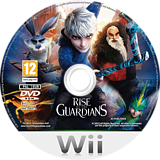 Rise of the Guardians Wii disc (SU7PAF)