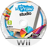 uDraw Studio Wii disc (SUWP78)