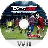 Pro Evolution Soccer 2010 Wii disc (SUXYA4)