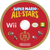Super Mario All-Stars: 25th Anniversary Edition Wii disc (SVMP01)
