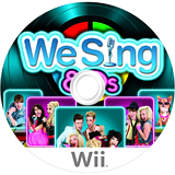 We Sing 80s Wii disc (SW8PNG)