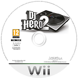 DJ Hero 2 Wii disc (SWBP52)