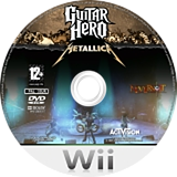 Guitar Hero: Metallica Wii disc (SXBP52)