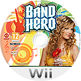 Band Hero Wii disc (SXFP52)